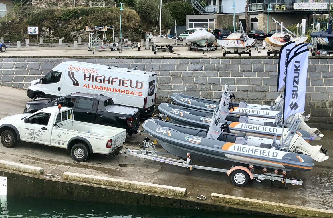 Le Groupe Rouxel Marine en partenariat avec Highfield pour la Route du Rhum 2018