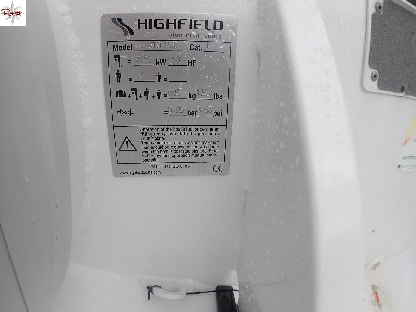 Highfield 310 Ultralite - Axe - 2018